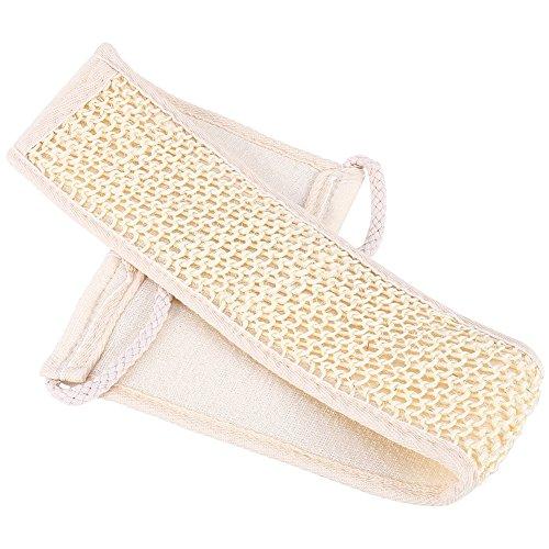 Toalla para fregar la espalda, toalla de fregar ligera, 28,74 x 3,15 pulgadas, práctica para viajes, mujeres, hogar, hombres
