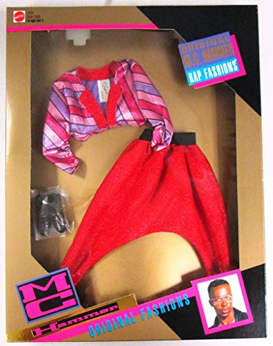 Original M.c. Hammer Rap Fashions Red Outfit