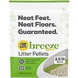Purina Tidy Cats Litter Pellets for Litter Box Odor Control, Breeze Refill Litter Pellets - 3.5 lb. Pouch, pack of 6