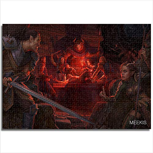 Zeo Qi Lin Zou The corner of the classic puzzle Elder Scrolls online arrival 52x38cm wooden 1000 piece decompression game to enhance thinking logic