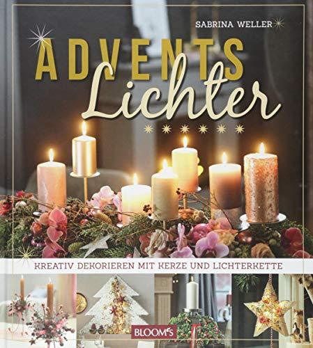 Adventslichter: Kreativ dekorieren mit Kerze und Lichterkette