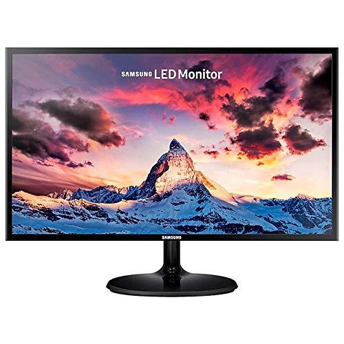 SAMSUNG S24F354FHR, 24-Zoll-PC-Bildschirm, FHD-Auflösung (1920 x 1080), PLS-Panel, Betrachtungswinkel 178 ° / 178 °, 4 ms, 60 Hz, 1 VGA, 1 HDMI