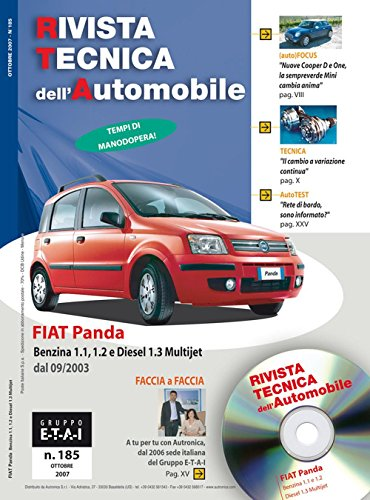 Fiat Panda 1.1 e 1.2 benzina. 1.3 JTD anche 4x4 (Rivista tecnica dell'automobile)