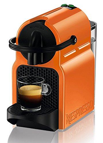 DeLonghi Nespresso Inissia EN 80.O - Cafetera automática, 19 bares, color naranja