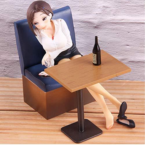 TLTL Tawawa on Monday Girl Chan PVC Figura de acción Juguetes 16cm Anime Figura Colección Estatua Muñeca Juguetes Regalo