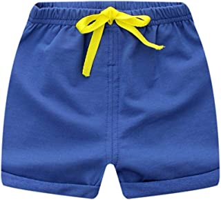 Domybest 子供服 夏 短パン 男の子 キッズ 単色 シンプル 無地 カジュアル 下着 半ズボン 100cm