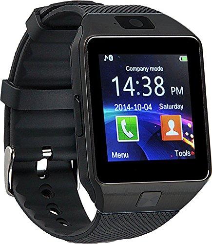 Proscan PBTW360-BLACK Bluetooth Camera Smart Watch