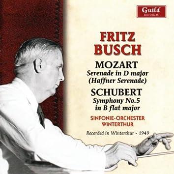 Busch - Mozart, Schubert 1949