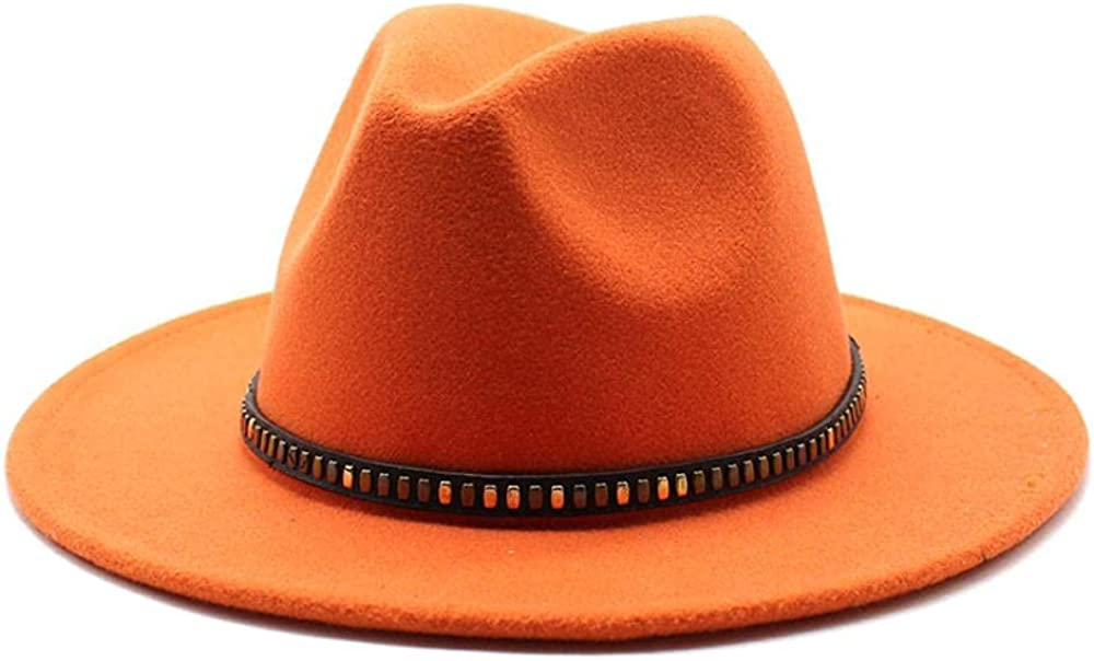 Women's and Men's Fedora Hat Classic Rare Panama Wide Max 70% OFF Elegant Brim Wo