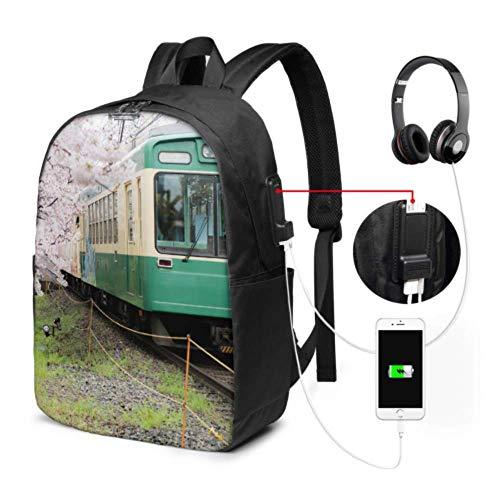 Borsa da lavoro alla moda Libertà, Giappone, Viaggi Città Scenic Area Classic Fashion Borse con porta USB di ricarica e porta cuffie per college lavoro, viaggi