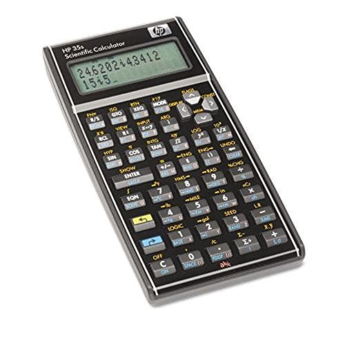 powerful Programmable Scientific Calculator HP 35S, 14 Digit LCD
