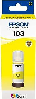 حبر طابعة ايبسون 103 أصفر 65 مل