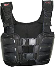 K1 Race Gear 70023018 Black Medium Carbon Fiber Racing Rib Vest