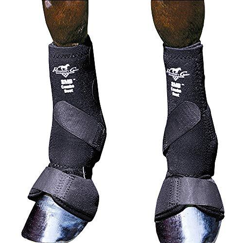 Professionals Choice Equine SMB Combo Stiefel, Größe M, 1 Paar, schwarz, Medium