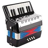 8 Bassi Fisarmonica A Piano 17 Chiave Tastiera di Pianoforte Strumento per L'Educazione Al...