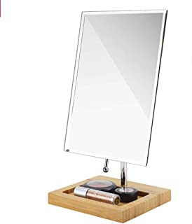 Makeup Mirror European Single-Sided Rotatable Mirror Makeup Mirror Desktop Mirror