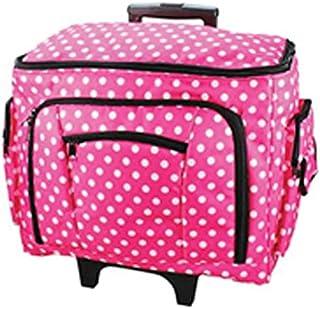 Sewing-Online Bolso de la Máquina de Coser de Punto Rosa 47 x 38 x 24cm Birch 006108-PINK-DOT
