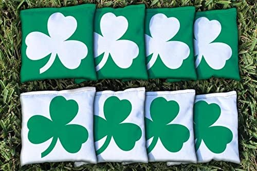 Victory Tailgate 8 Shamrock Regulation Bags Ranking TOP13 Filled Corn New Orleans Mall Cornhole