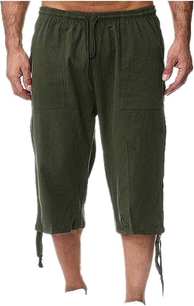 NP Short Men Length Knee Large Waist Bermuda Shorts Male Long Men's Summer