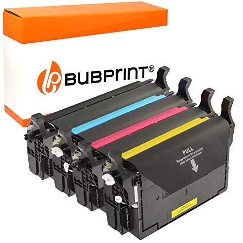 4 Bubprint Toner kompatibel für Samsung CLT-K5082L CLT-C5082L CLT-M5082L CLT-Y5082L für CLP-620 CLP-620ND CLP-670 CLP-670N CLP-670ND CLX-6220FX CLX-6250FX