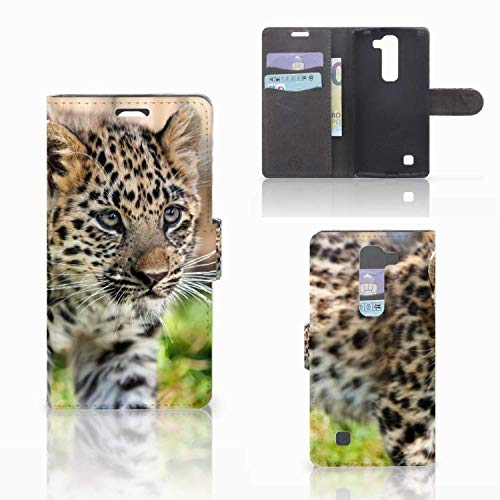 B2Ctelecom Schutzhülle für LG Magna | G4C Hülle Baby Luipaard