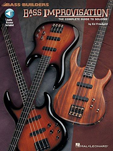Bass Improvisation Complete Guide To Soloing Book/Cd -Album-: Noten, CD für Bass-Gitarre