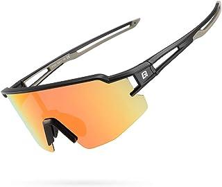 ROCKBROS Polarized Sunglasses for Men Women UV Protection Cycling Sunglasses Sport Glasses Bike Running Driving Fishing Go...