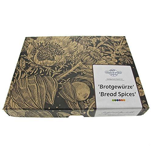 Brotgewürze - Samen-Geschenkset mit 3 klassischen Zutaten einer Back-Gewürzmischung, perfekt zum Brot backen