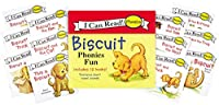 Biscuit 12-Book Phonics Fun!: Includes 12 Mini-Books Featuring Short and Long Vowel Sounds (My First I Can Read)