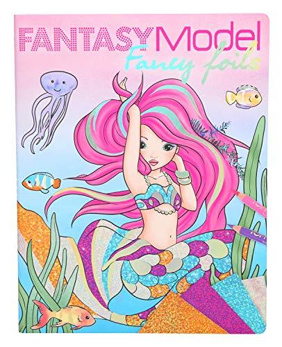 Depesche 10351 - Malbuch Fancy Foils, Fantasy Model