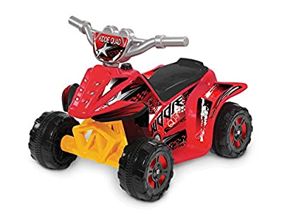 Red Kiddie Quad 6V Ride On