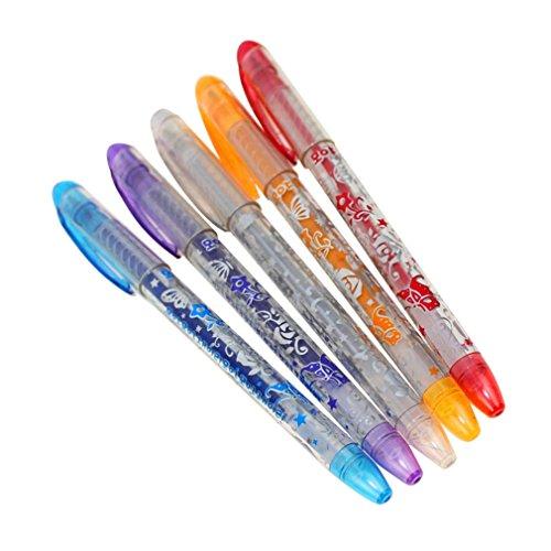 Manalada® 6 STÜCKE Kinder DIY Tattoo Stifte Handdrawing Gel Neuheit Kinderspielzeug
