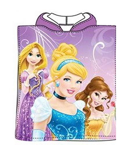 Disney Princess Once Upon A Time Violet Poncho à capuche Serviette