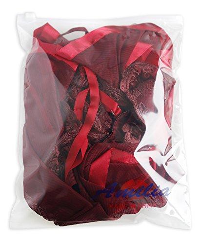 AmiliaセクシーランジェリーセクシーベビードールBabydoll下着透けるパジャマナイトウェアバレンタインプレゼントS-XL