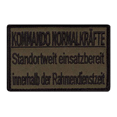 Café Viereck ® Bundeswehr Morale Patch Gestickt mit Klett - 9 cm x 6 cm