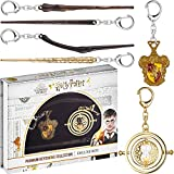 Harry Potter Keychains 6 Pc. Set – Includes Sirius Black, Hermione, Ron Weasley Wand & More – Harry Potter Gifts, Merch, Accessories, Party Favors by PMI