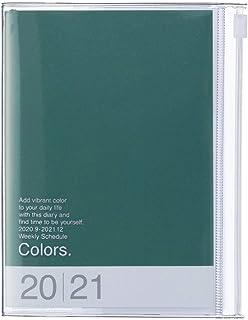 Mark's Europe 2020/2021 - Agenda de bolsillo (A6, vertical, 21DRI-AV02-GN), color verde