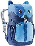 Deuter Mochila infantil unisex Kikki, Unisex niños, Mochila para niños, 3610421, azul frío y medianoche, 8 l