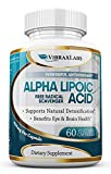 Alpha Lipoic Acid - Extra Strength 600mg Supplement - Best Pure Powder Complex Ala Vegetarian Capsules for Skin, Face, Eye and Brain Boost – Helps Sustain Natural Detoxification, 2 Month Supply