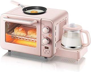 Mini Horno Eléctrico De 8L Con Doble Placa Calefactora, Múltiples Funciones De Cocción y Parrilla, Control De Temperatura Ajustable, Temporizador - 1400W