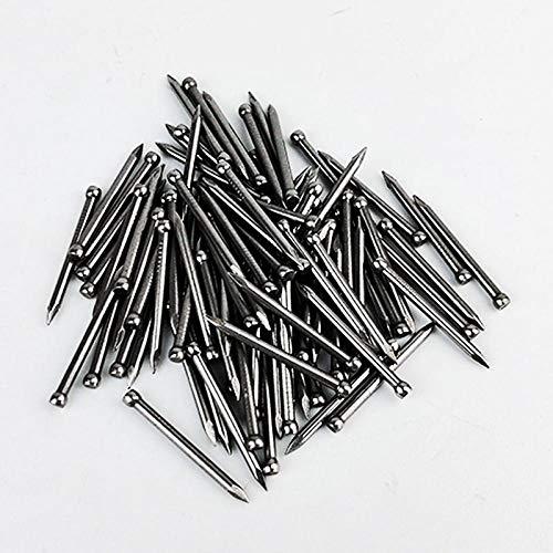 Spezielle kopflose Stahlnägel, Nägel, Massivholz-Fußleisten-Rundkopfnägel, Fußleisten-Nägel-35mm300