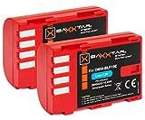 2X Baxxtar Pro batería para Panasonic DMW BLF19 E con info Chip - para Panasonic Lumix DC G9 GH5 GH5s DMC GH3 GH4 GH4R / Sigma BP-61