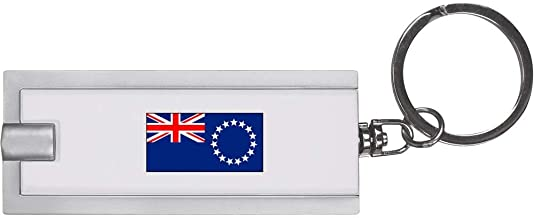 'Cook Islands Flag' Keyring LED Torch (KT00015085)