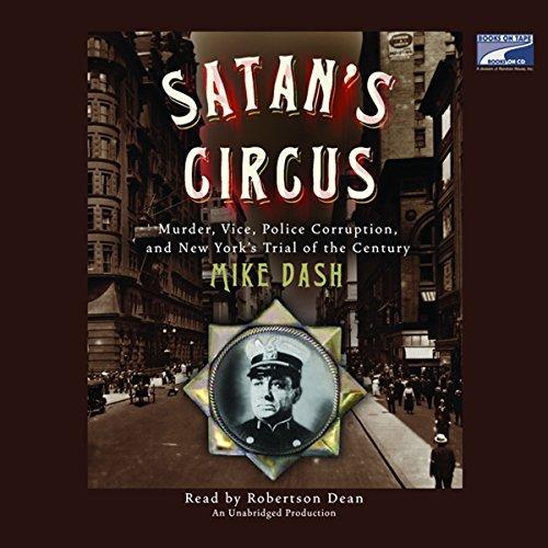 Satan's Circus audiobook cover art