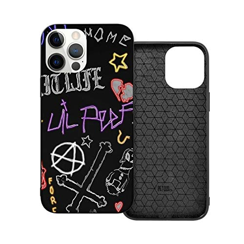 Slim Fit Compatible with Phone 12 Case Lil Peep Shockproof Ultra Thin Hard Plastic Protective Phone Case Designed for All iPhone 12 Series