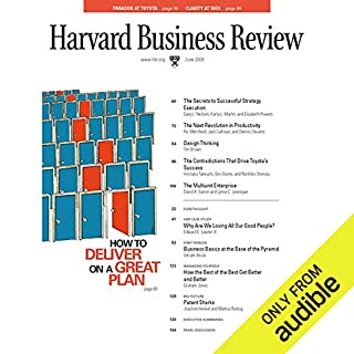 Design Thinking (Harvard Business Review)                   By:                                                                                                                                 Tim Brown,                                                                                        Harvard Business Review                               Narrated by:                                                                                                                                 Todd Mundt                      Length: 25 mins     235 ratings     Overall 3.9