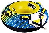 MESLE Tube Ringo 54'', Towable-Tube, 1 Person, Fun-Tube, 137 cm Wasser-Reifen für Kinder & Erwachsene, Wassersport, blau-gelb