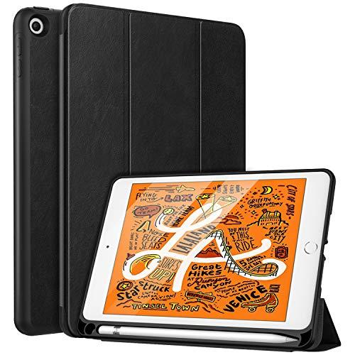 MoKo Funda con Stylus Pencil Soporte Compatible con New iPad Mini 5th Generation 7.9' 2019, Ligera Función de Soporte...