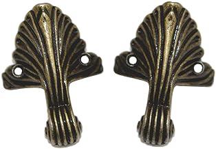 BESPORTBLE kastpoten hoekbescherming antiek vintage decoratieve sieraden geschenkdoos houten koffer bureau stoel plank meu...