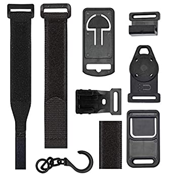 Universal Multimeter Magnet Hook and Clip Hanging Strap Kit   Works With Most Multitesters Including Fluke and Klein Tool Meters